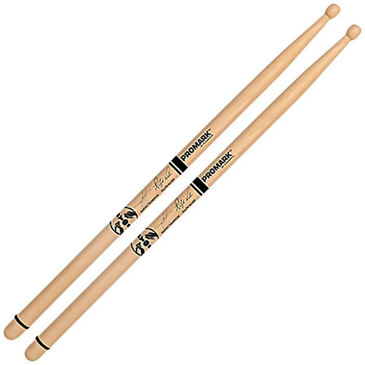 Promark BYOS Hickory Oval Wood Tip Drum Sticks