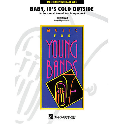 Hal Leonard Baarranged by, It's Cold Outside - Young Concert Band Series Level 3 arranged by John Moss