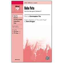 Alfred Baba Yetu SATB divisi, a cappella (with Opt. Drums)