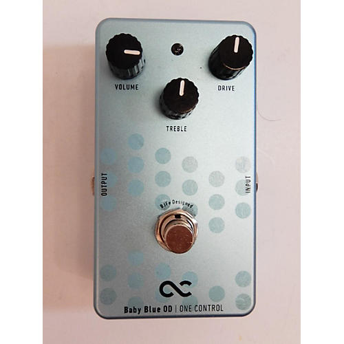 One Control Baby Blue Od Effect Pedal