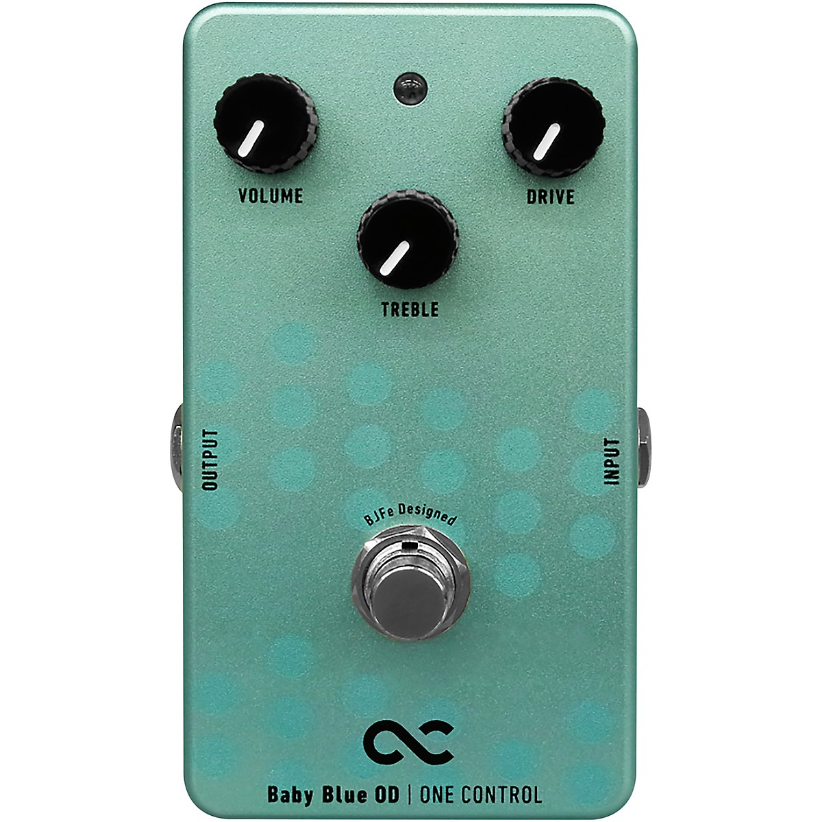 One Control Baby Blue Overdrive Effects Pedal