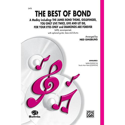 Alfred Bach Best of Bond (A Medley) SATB Choral Octavo
