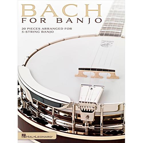 Hal Leonard Bach For Banjo - 20 Pieces Arranged for 5-String Banjo