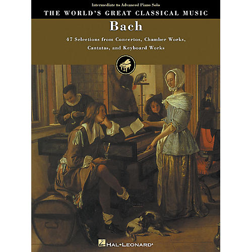 Hal Leonard Bach World's Greatest Classical Music Series Composed by J.S. Bach