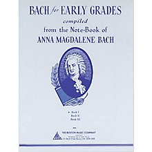 Boston Music Bach for Early Grades - Book 1 Music Sales America Series Softcover