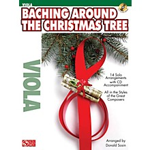 Cherry Lane Baching Around the Christmas Tree Instrumental Play-Along Series Softcover with CD