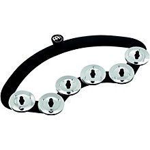 Backbeat Tambourine with Stainless Steel Jingles 13-14 in. Drum