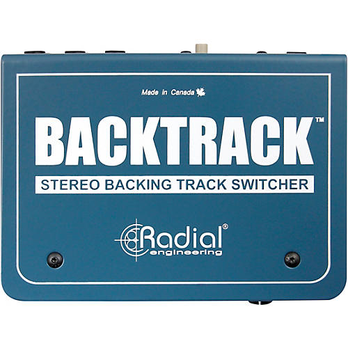 Radial Engineering Backtrack, Stereo Audio Switcher