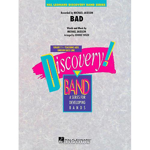 Hal Leonard Bad - Discovery Concert Band Level 1