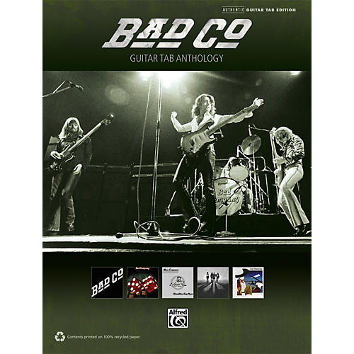 Alfred Bad Company - Guitar TAB Anthology Book