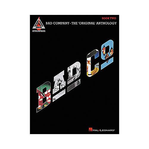 Hal Leonard Bad Company - The Original Anthology - Book 2 Book