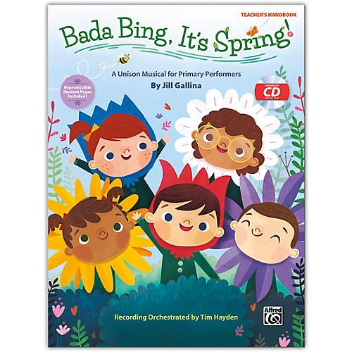 Alfred Bada Bing, It's Spring! CD Kit (Book & Enhanced CD) Grades K--4