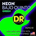 DR Strings Bajo Quinto Neon Green Coated 10 String thumbnail