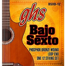 GHS Bajo Sexto 12-String Phosphor Bronze Acoustic Guitar Strings