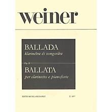 Editio Musica Budapest Ballad, Op. 8 EMB Series by László Weiner