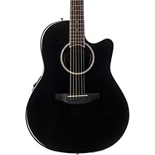 Balladeer Series AB24II Acoustic-Electric Guitar Black