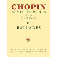 PWM Ballades (Chopin Complete Works Vol. III) PWM Series Softcover