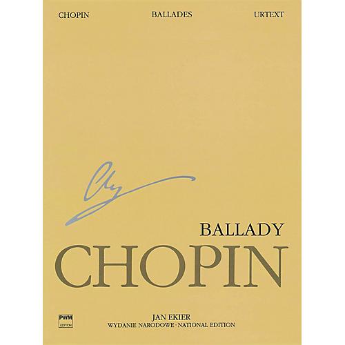 PWM Ballades (Chopin National Edition Volume I) PWM Series Softcover