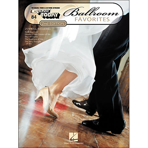 Hal Leonard Ballroom Favorites 2nd Edition E-Z Play 84