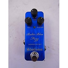 One Control Baltic Blue Fuzz Effect Pedal