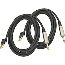 "Musician's Gear Banana-1/4"" Speaker Cable 14 Gauge 10' 2-Pack"