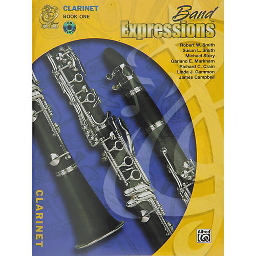Alfred Band Expressions Book One Student Edition Clarinet Book & CD