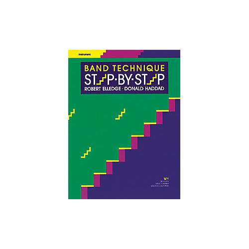 KJOS Band Technique Step-By-Step Alto Sax