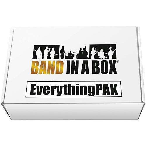 PG Music Band-in-a-Box 2017 EverythingPAK (Windows)