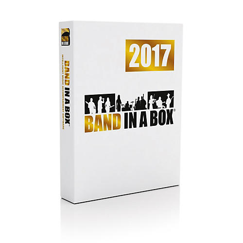 PG Music Band-in-a-Box 2017 MEGAPAK (Windows DVD-ROM)