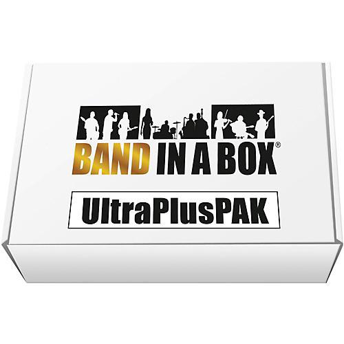 PG Music Band-in-a-Box 2017 UltraPlusPAK (Windows USB Hard Drive)