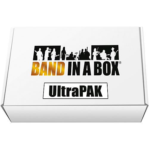 PG Music Band-in-a-Box 2018 UltraPAK USB Hard Drive (Windows)