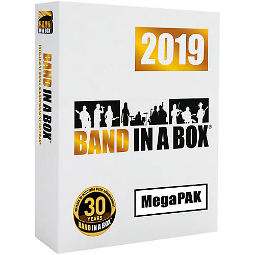 PG Music Band-in-a-Box 2019 MegaPAK [Win Download]