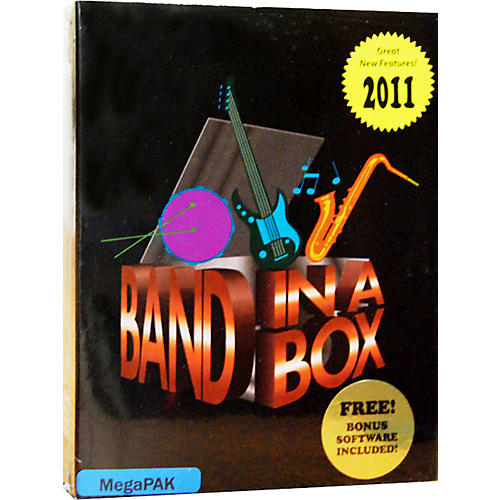 PG Music Band-in-a-Box Pro 2011 MAC MegaPAK (Mac-DVD)