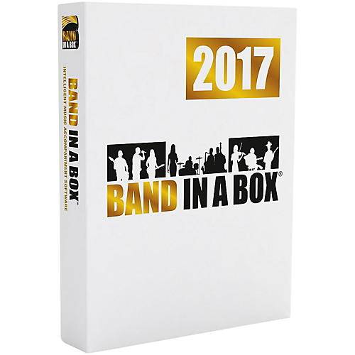 PG Music Band-in-a-Box Pro 2017 (Windows DVD-ROM)