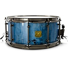 Bandit Series Snare Drum with Black Hardware 14 x 6.5 in. Bandit Blue