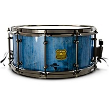 Bandit Series Snare Drum with Black Hardware 14 x 7 in. Bandit Blue