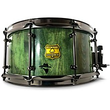 Bandit Series Snare Drum with Black Hardware 14 x 7 in. Gallop Green