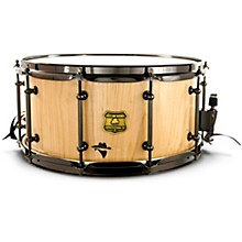 Bandit Series Snare Drum with Black Hardware 14 x 7 in. Notorious Natural Wood