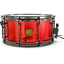 Bandit Series Snare Drum with Black Hardware 14 x 7 in. Reckon Red