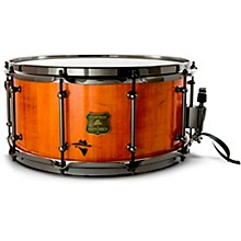 Bandit Series Snare Drum with Black Hardware 14 x 8 in. Outlaw Orange Sparkle