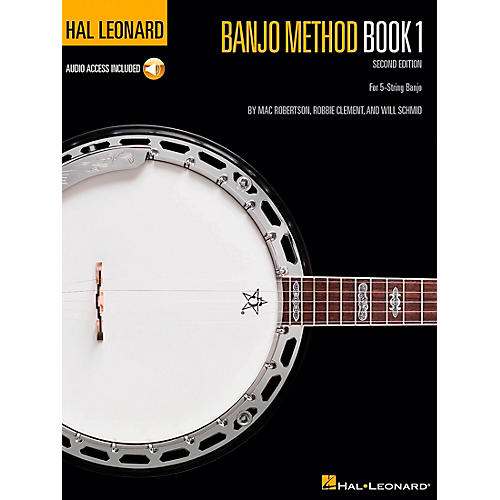 Hal Leonard Banjo Method - Volume 1 Book/Online Audio