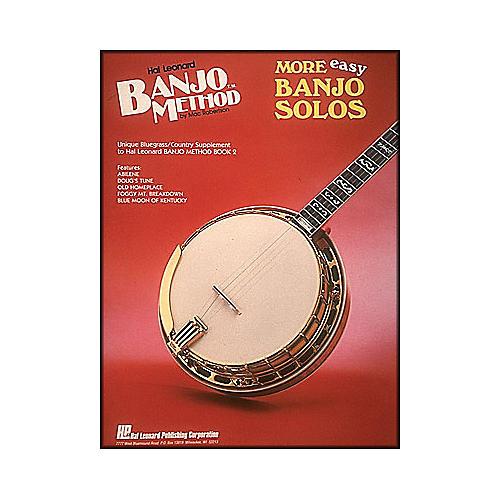 Hal Leonard Banjo Method More Easy Banjo Solos