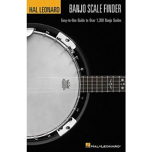 Hal Leonard Banjo Scale Finder 1300 Banjo Scales 6x9 Book