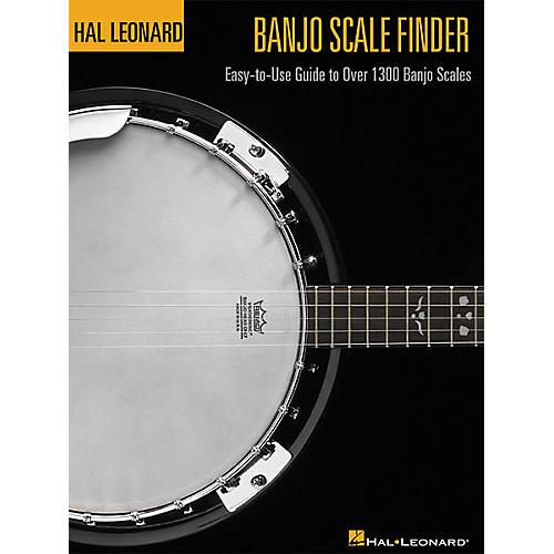Hal Leonard Banjo Scale Finder Book