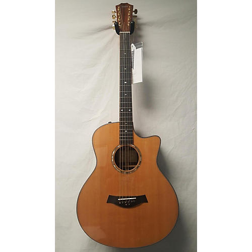 used taylor baritone 8 acoustic electric guitar natural guitar center. Black Bedroom Furniture Sets. Home Design Ideas