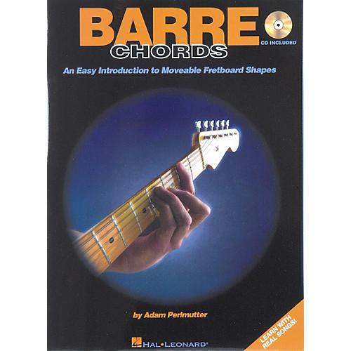Hal Leonard Barre Chords (Book/CD)