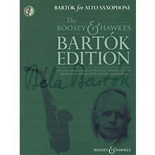 Boosey and Hawkes Bartók for Alto Saxophone Boosey & Hawkes Chamber Music Series Book with CD
