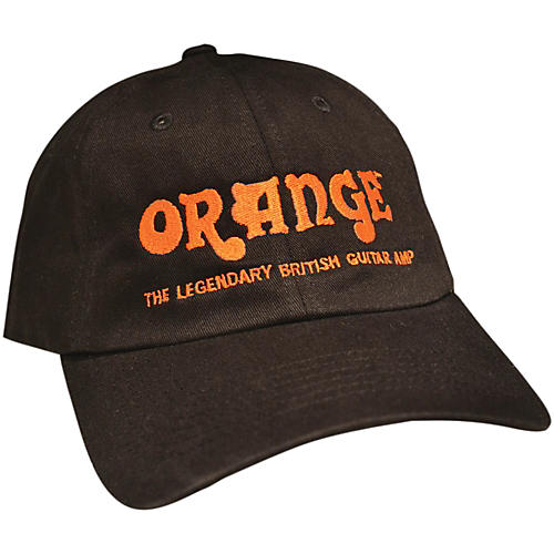 Orange Amplifiers Baseball Hat Black Guitar Center