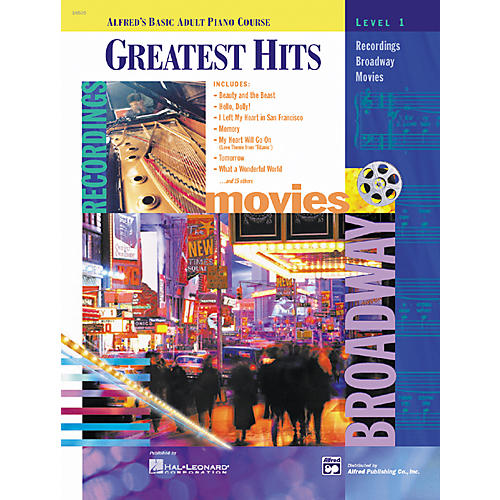 Alfred Basic Adult Piano Course: Greatest Hits Book1