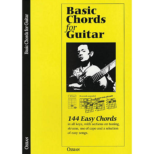 Music Sales Basic Chords for Guitar (144 Easy Chords) Music Sales America Series Softcover Written by John Loesberg